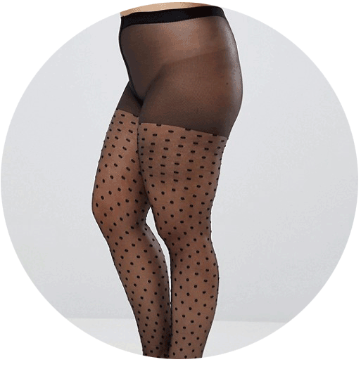 Collants ASOS grandes tailles